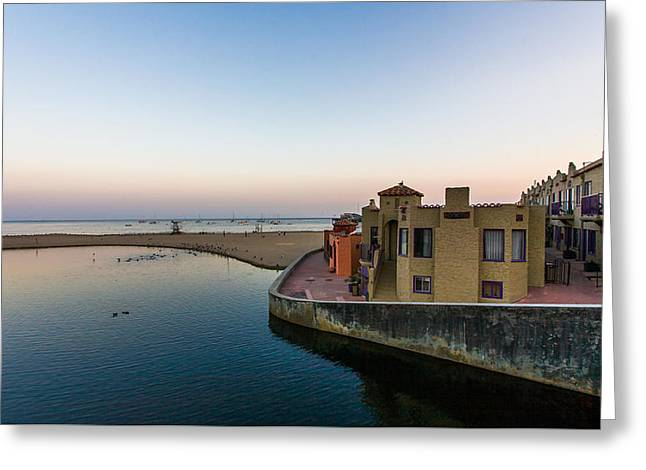 Venetian Hotel Capitola Greeting Card by Tommy Farnsworth