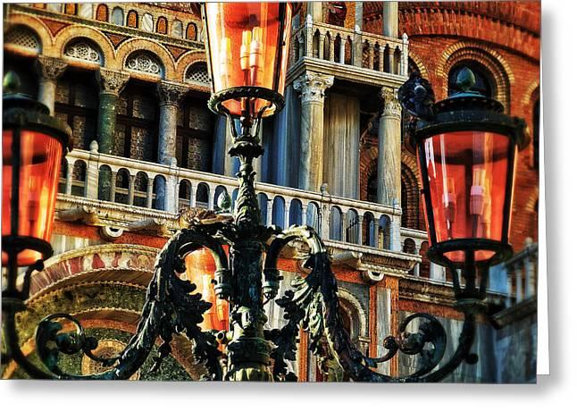 Venetian Potpourri  Greeting Card