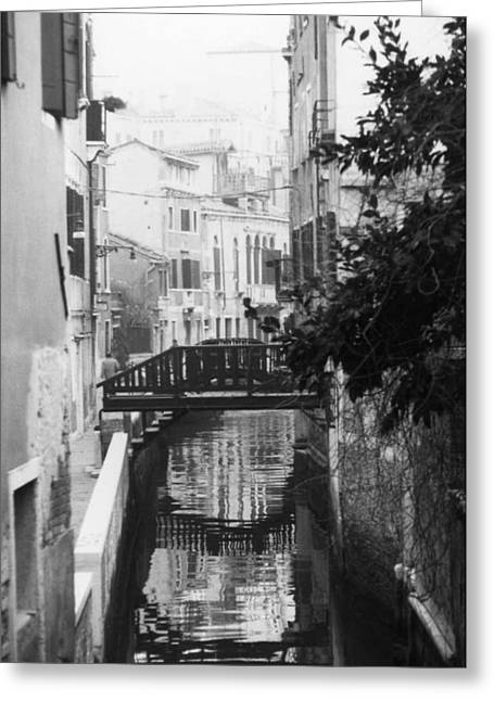 Venetian Reflections Greeting Card by Dorothy Berry-Lound
