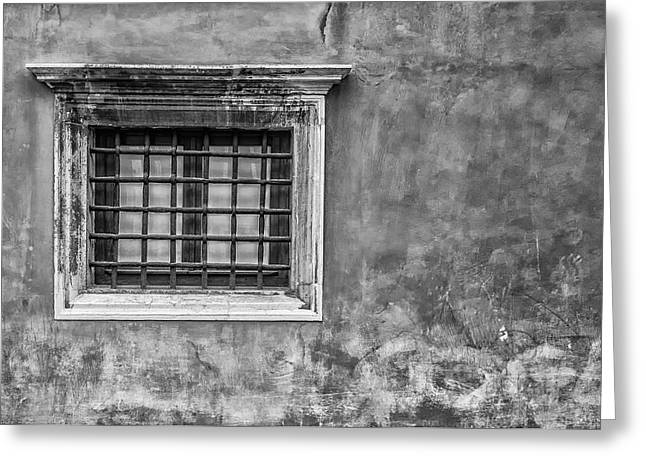 Venetian Window Greeting Card