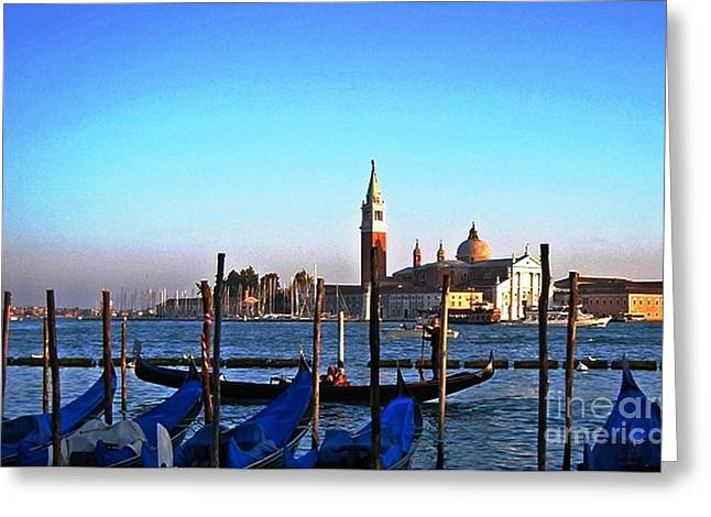 Venezia City Of Islands Greeting Card