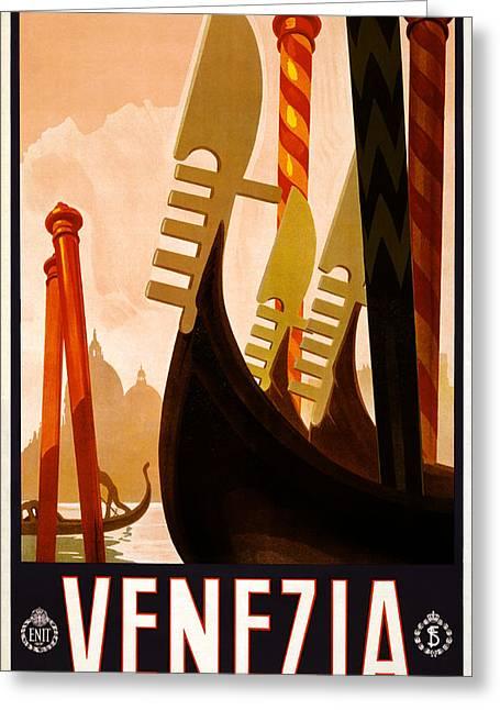 Venezia Italy Greeting Card