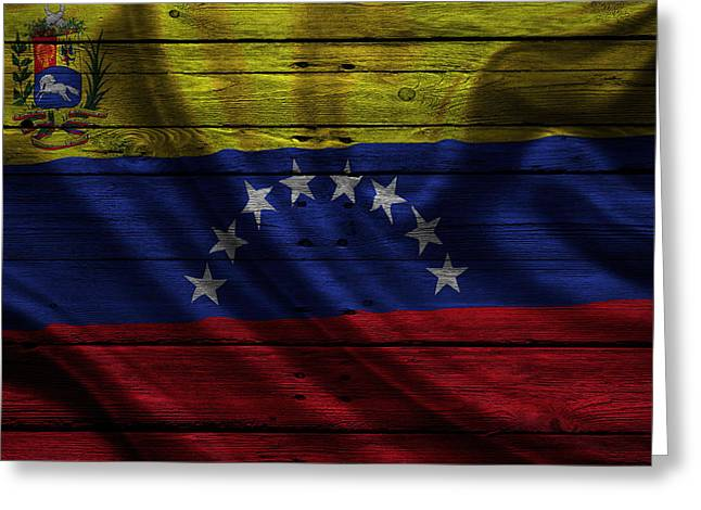 Venezuela Greeting Card by Joe Hamilton