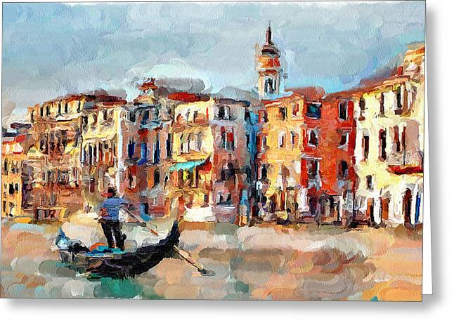 Venice 14 Greeting Card