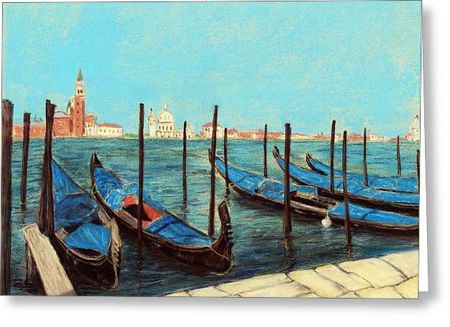 Venice Greeting Card by Anastasiya Malakhova