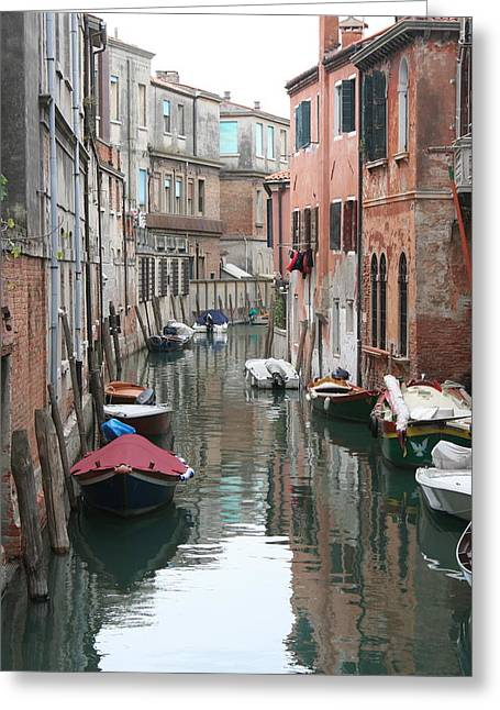 Venice Backstreets Greeting Card