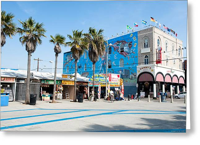 Venice Beach Boardwalk Greeting Card