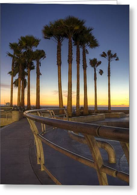 Venice Beach Greeting Card by Brent Durken
