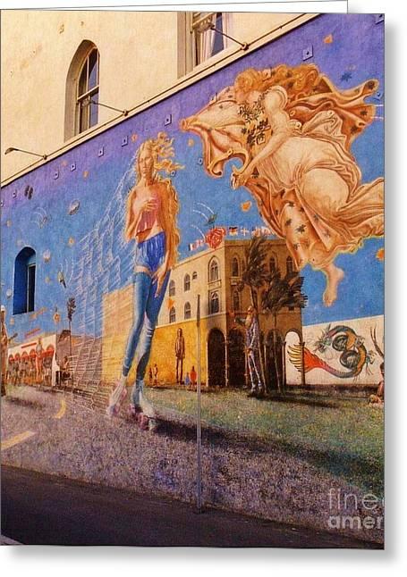 Venice Beach Iconic Mural Greeting Card