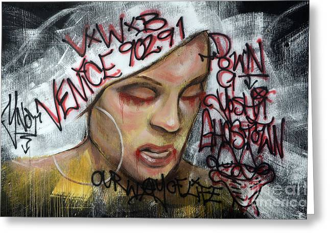 Venice Beach Wall Art 1 Greeting Card