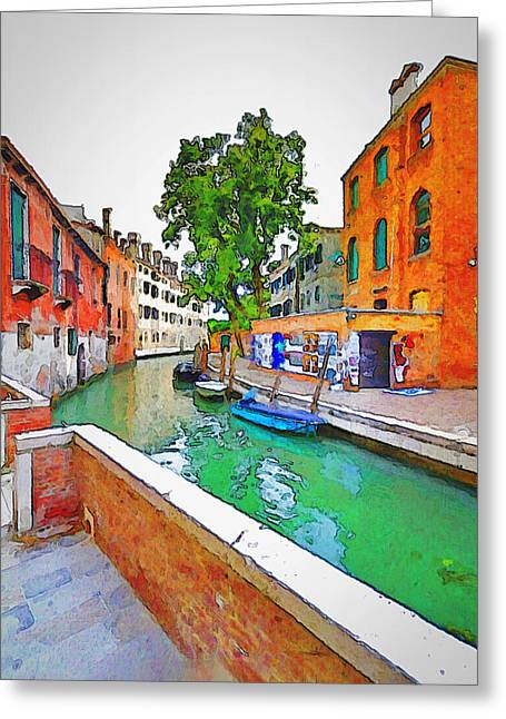 Venice Beauty 3 Greeting Card