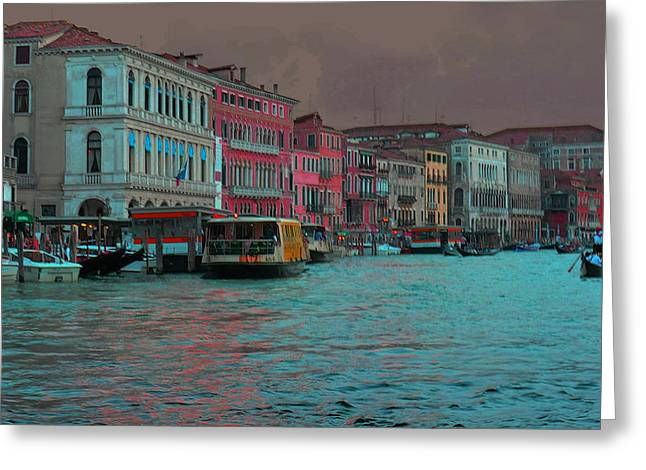Venice Before The Storm Greeting Card by Don Wolf