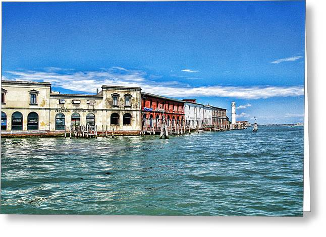 Venice By Sea Greeting Card