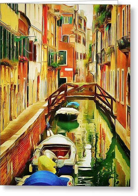 Venice Canals 19 Greeting Card