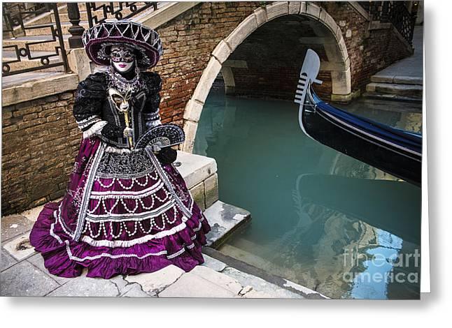 Venice Carnival '15 Vii Greeting Card