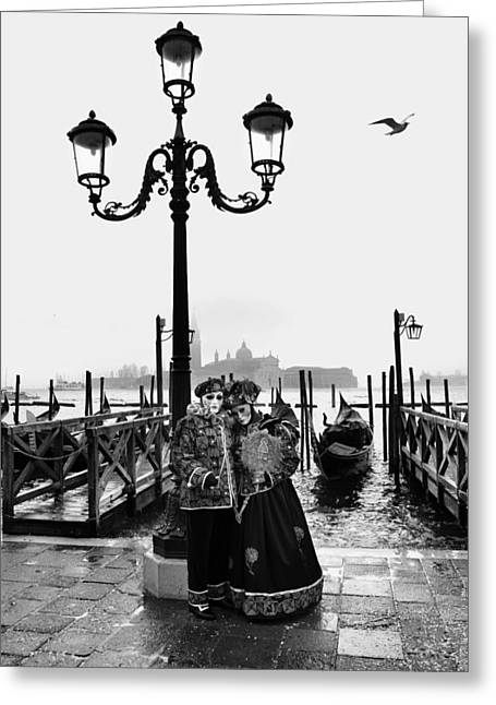 Venice Carnival Greeting Card