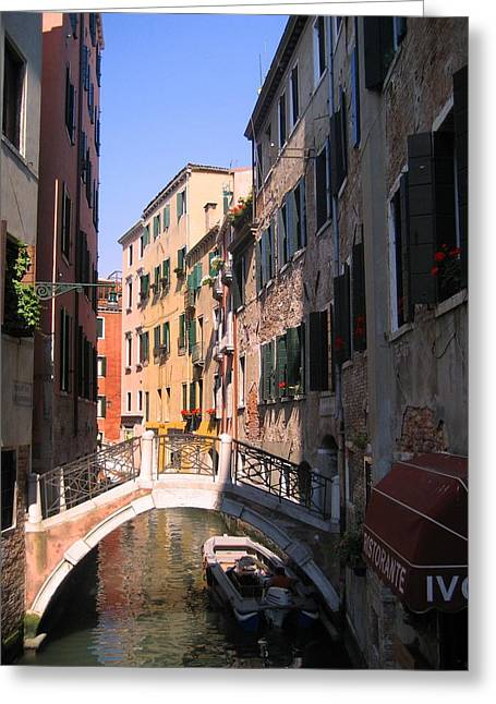 Greeting Card featuring the photograph Venice by Dany Lison