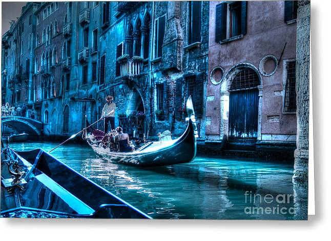 Greeting Card featuring the photograph Venice Dream by Hanza Turgul