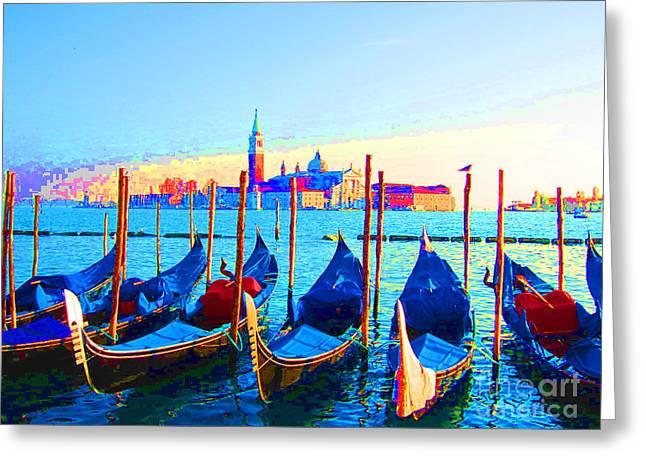 Venice Hues Greeting Card