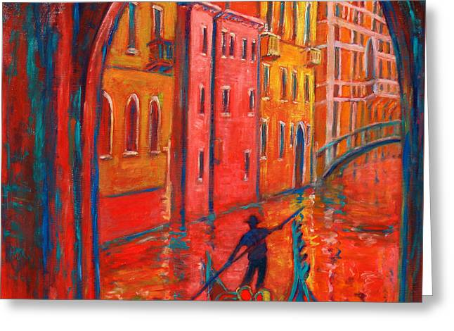 Venice Impression Viii Greeting Card