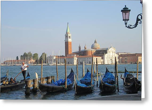 Venice In Springtime Greeting Card