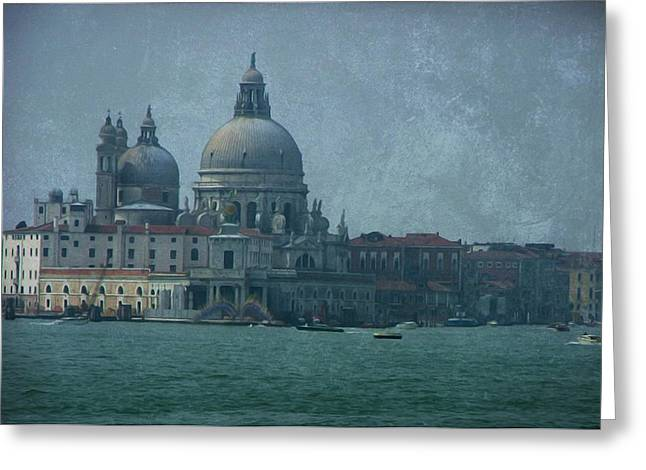 Greeting Card featuring the photograph Venice Italy 1 by Brian Reaves
