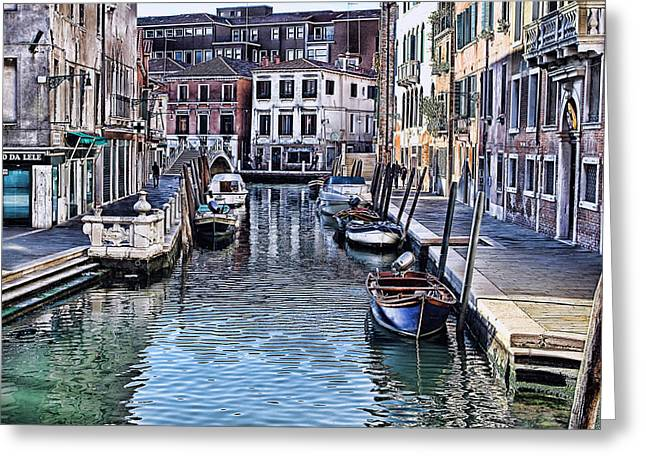 Venice Italy Iv Greeting Card