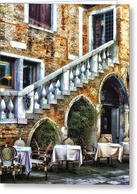 Venice Italy - Romance Greeting Card
