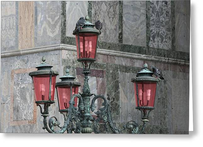 Venice Lights By Day Greeting Card
