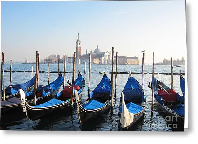Venice Greeting Card by Marguerita Tan