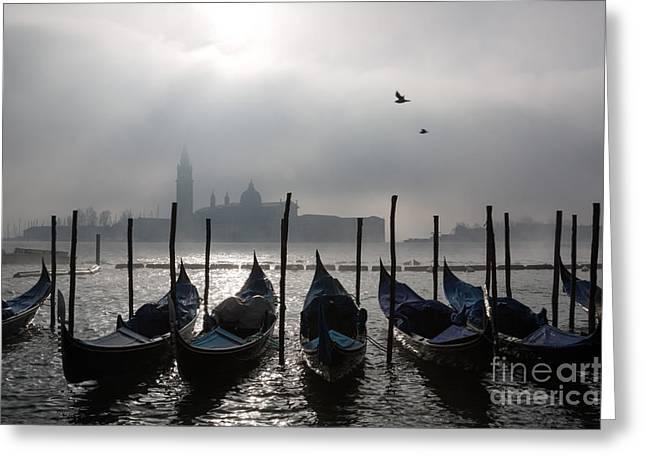 Venice Mist    Ery Greeting Card