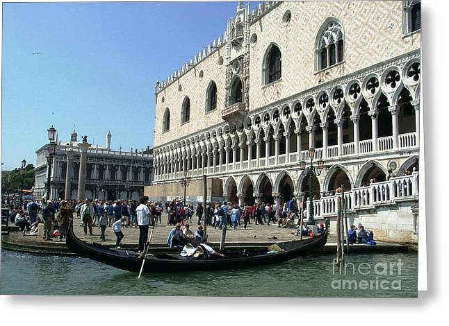Venice Palazzo Ducale Greeting Card