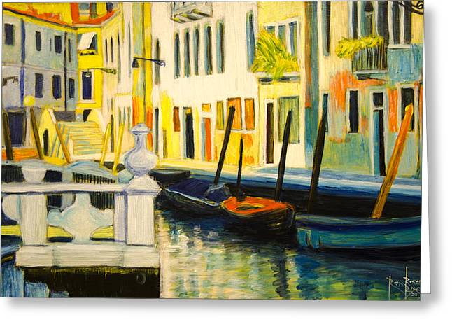 Venice Remembered Greeting Card