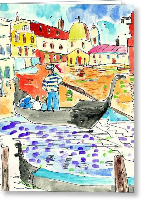Venice Greeting Card by Samuel Zylstra