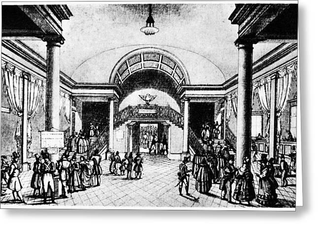 Venice Theater Atrium Greeting Card by Granger