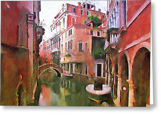 Venice Today 2 Greeting Card