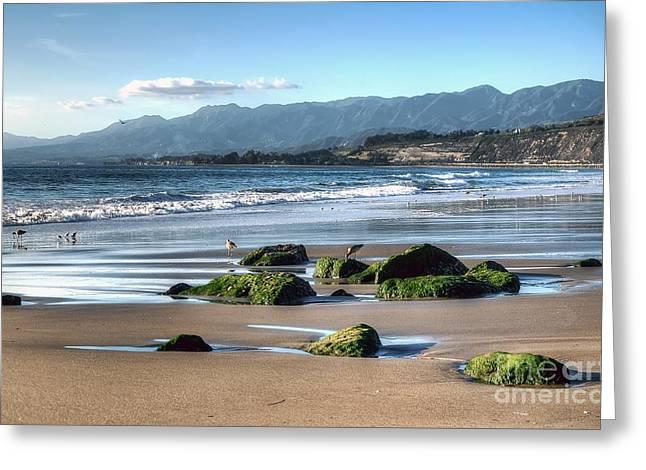 Ventura Shoreline Greeting Card