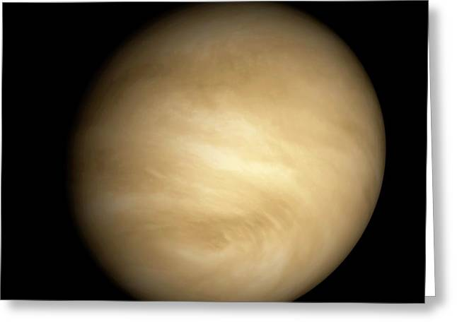 Venus Greeting Card by Carlos Clarivan