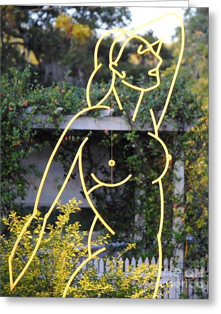 Venus De Largo Greeting Card by Robert Buck