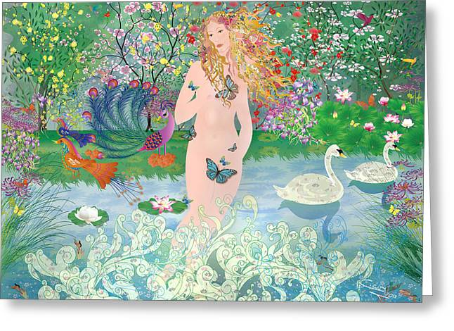 Venus En Primavera Greeting Card
