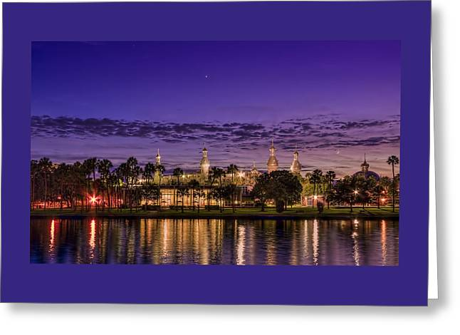 Venus Over The Minarets Greeting Card