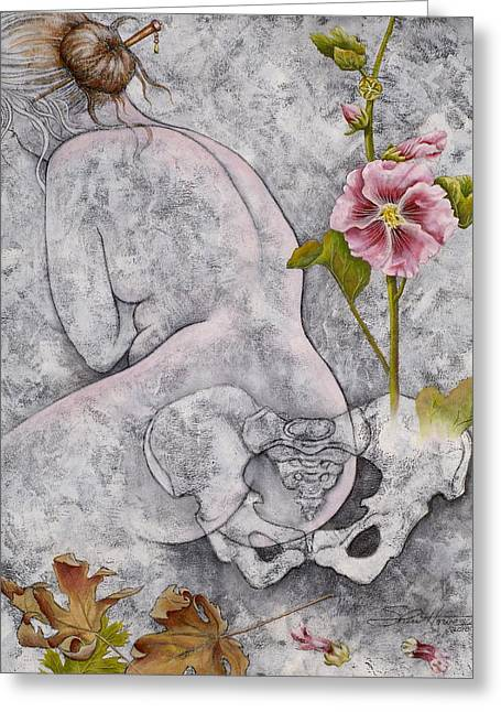 Venus Greeting Card by Sheri Howe