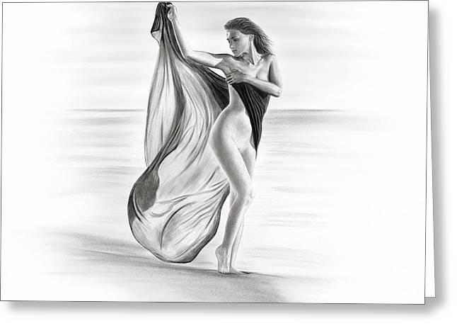 Venus Greeting Card by Silvio Schoisswohl