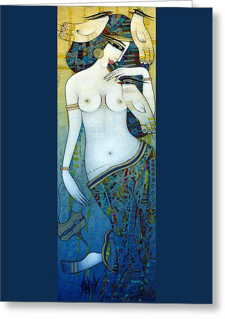 Venus With Doves Greeting Card