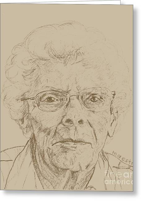 Vera Greeting Card by PainterArtist FIN