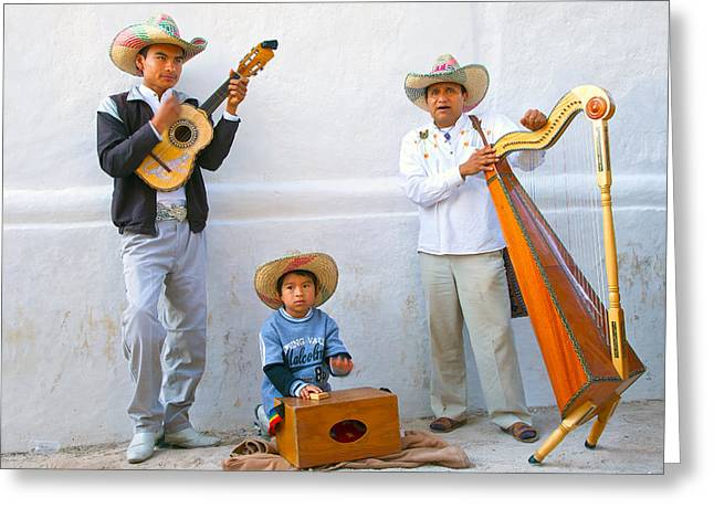 Veracruz Troupe Greeting Card