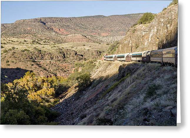 Verde Canyon Railway Landscape 2 Greeting Card
