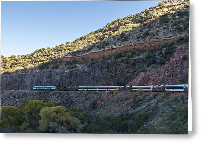 Verde Canyon Railway Landscape 1 Greeting Card