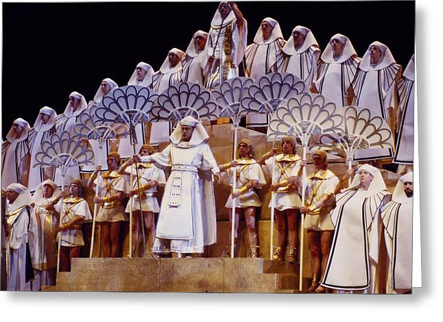 Verdi Aida Greeting Card