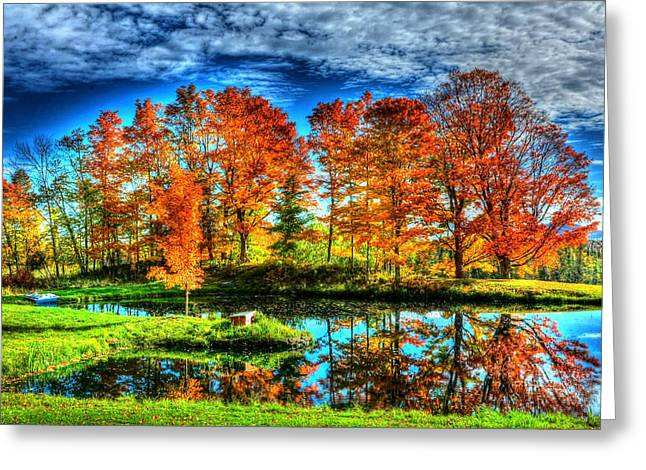 Vermont Colors Greeting Card by John Nielsen
